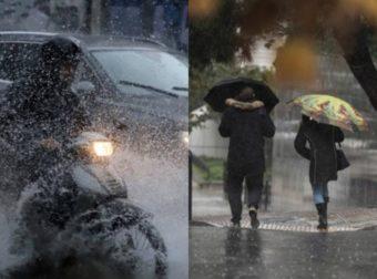 Καιρός αύριο: Αλλαγή σκηνικού. Έρχονται βροχές και καταιγίδες. Αναλυτική πρόγνωση